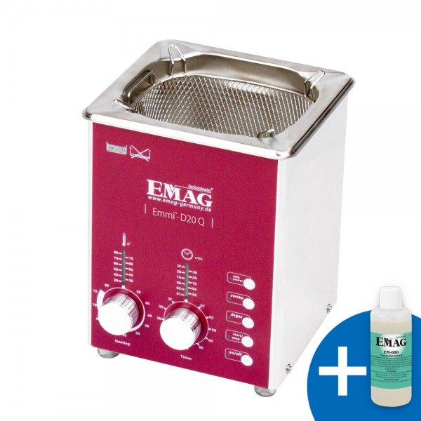 Emmi-D20 Q aus Edelstahl