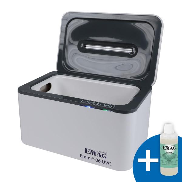 Emmi-06 UVC Ultraschallreiniger + UVC Licht *NEUHEIT*