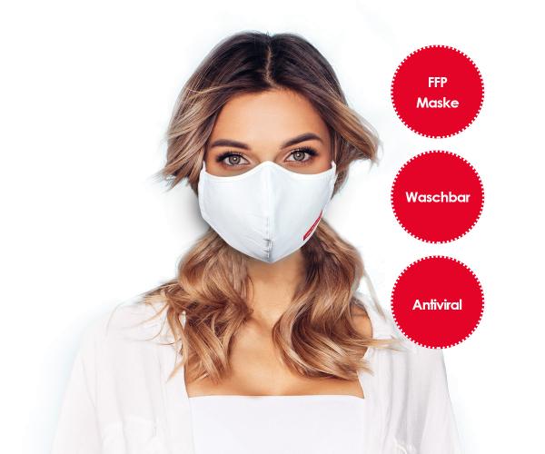 Emmi Nanosilver FFP Mund-Nasenmaske *waschbar*