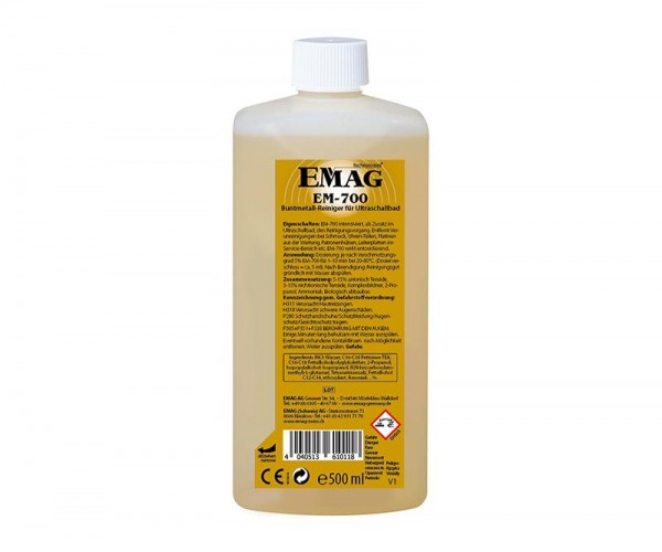 EM-700 500ml Buntmetallreiniger