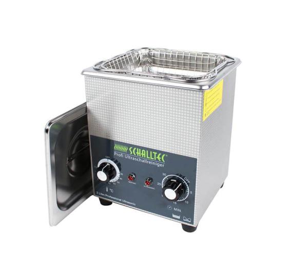 Schalltec S20 Ultraschallreiniger aus Edelstahl mit Heizung