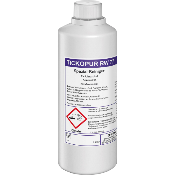 Tickopur RW 77 Nettoyant avec de l'ammoniaque