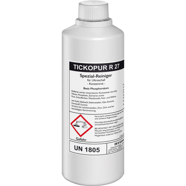 Tickopur R 27 Nettoyant spécial pour le détartrage