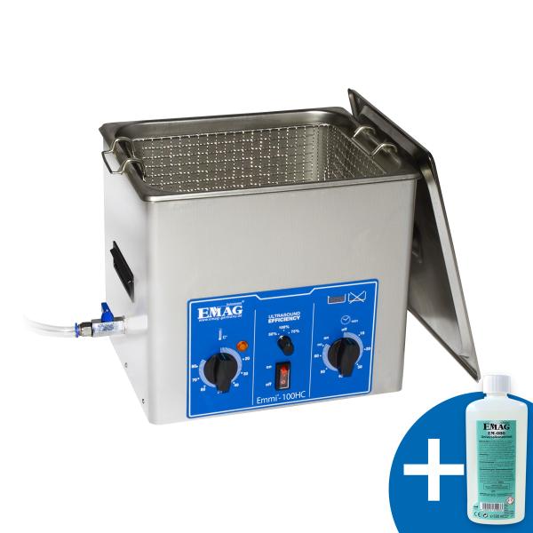 Emmi-100 HC with drain tap