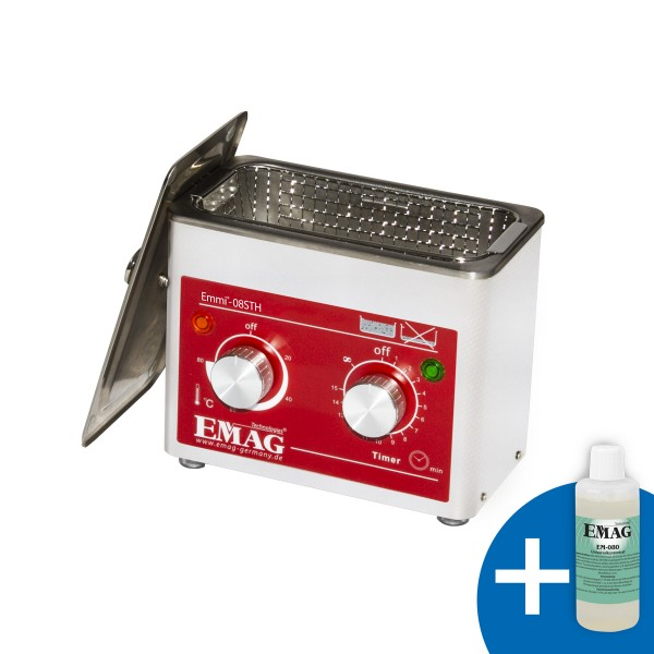 Emmi-08ST H stainless steel with heating