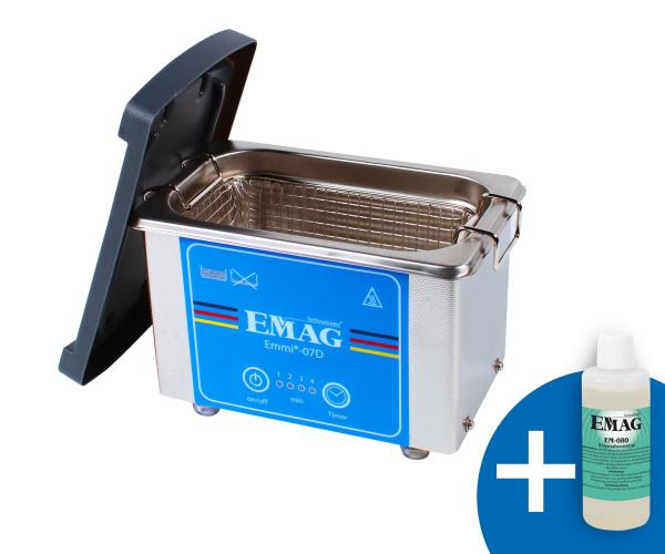 Emmi-07D Ultraschallreiniger aus Edelstahl *NEUHEIT*