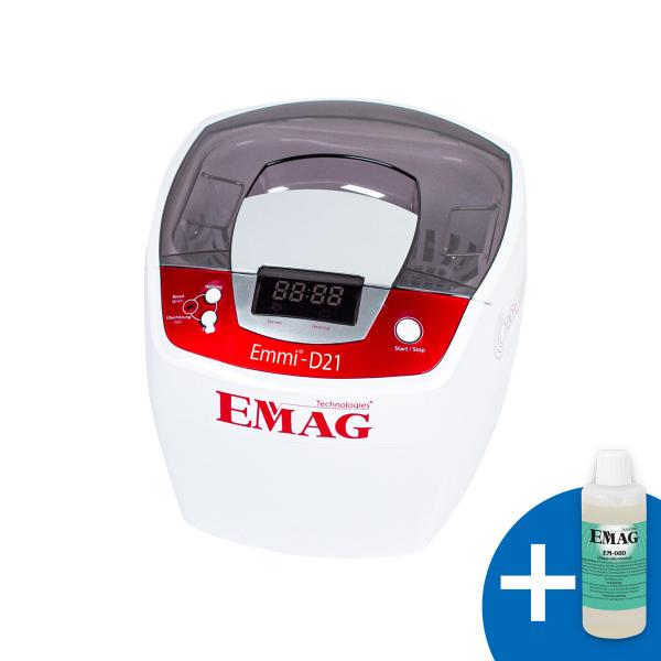 Emmi-D21 Ultraschallreiniger mit Edelstahlwanne
