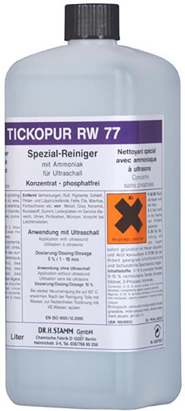 Tickopur RW 77 Spezial-Reiniger für Kunstoffteile