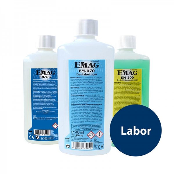 "EM-Konzentrat-Set ""Labor"" 3x 500ml"